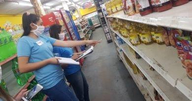 Dirección de Juventud haciendo relevamiento de precios máximos